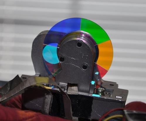 Television Color Wheel