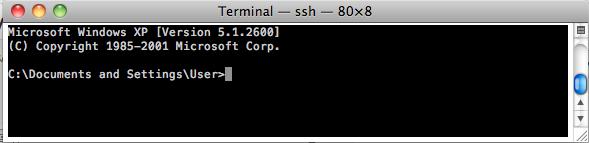 SSH-DOS