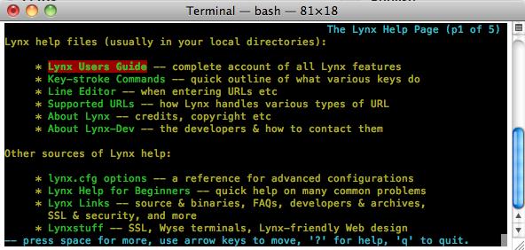 SSH-Lynx